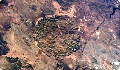 Pilanesberg National Park Ancient Volcanic Crater Image